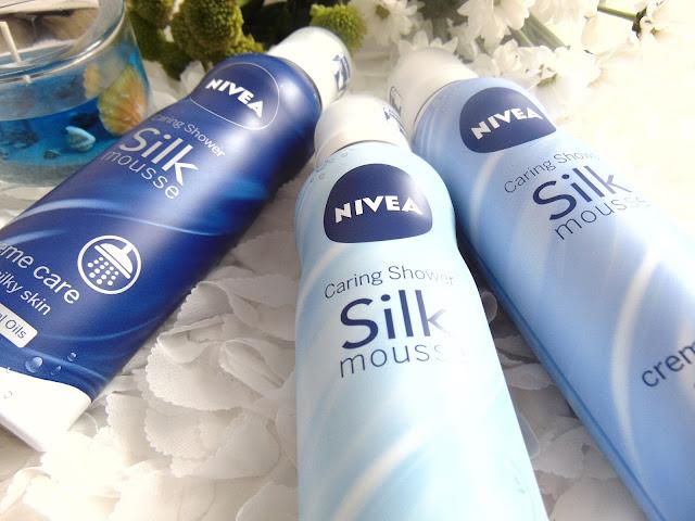 NIVEA - Jedwabiste musy do ciała w trzech wariantach