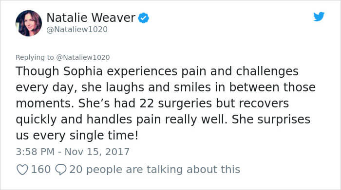 Awful Twitter User Shares The Picture Of A 9-Year-Old Girl With Facial Deformation To Promote Abortion. The Mother's Response Was Powerful!