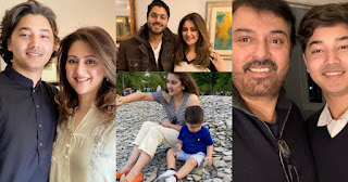 Nauman Ijaz with his Wife and Sons | Awesome Pictures