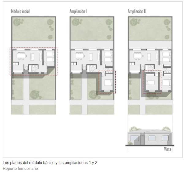 Cuánto cuesta construir una casa económica como la del plan Procrear II