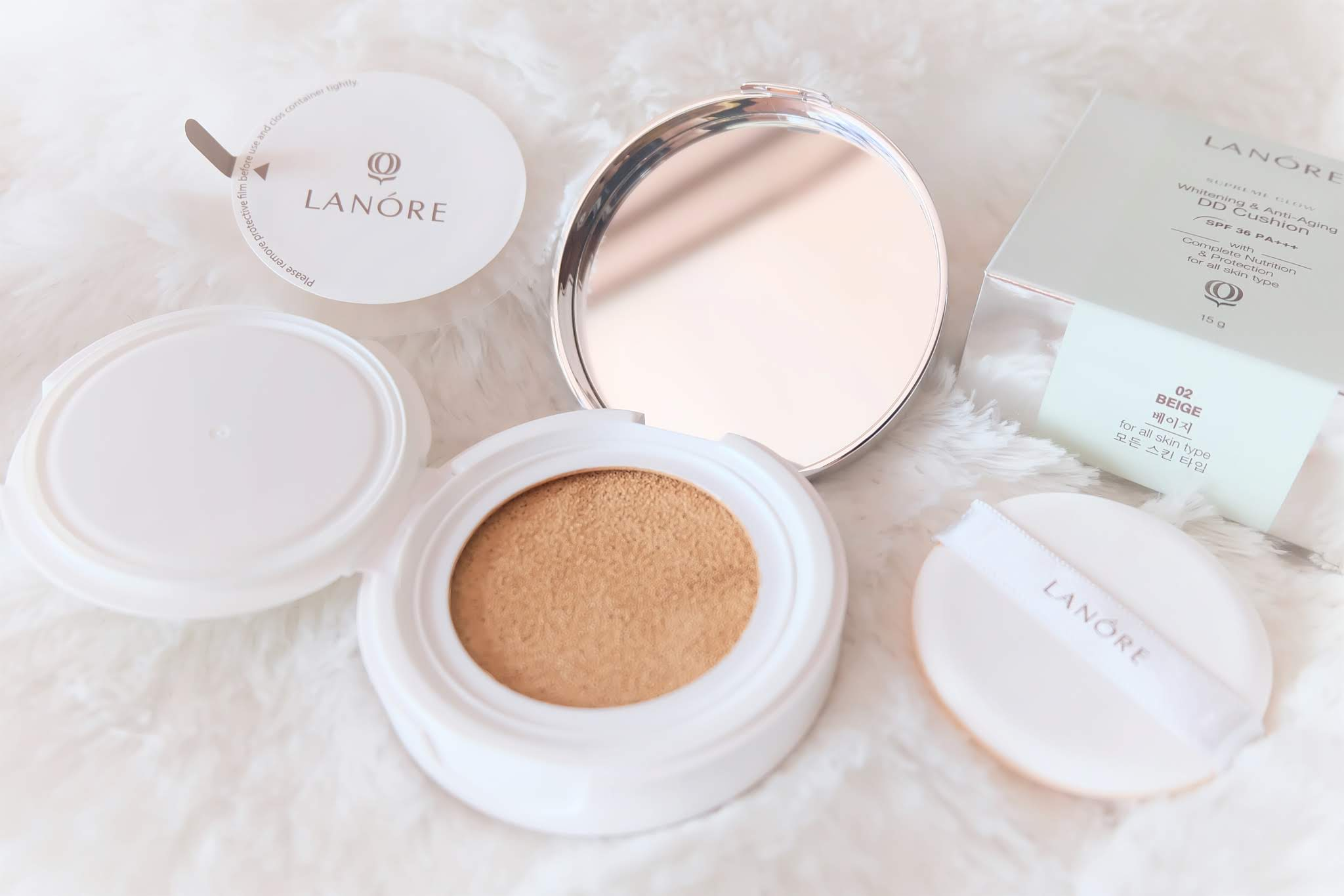 [Review] Lanore Whitening and Anti Aging DD Cushion