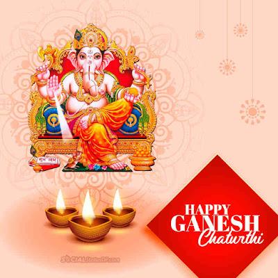Ganesh Chaturthi wishes image, Happy Ganesh Chaturthi 2021
