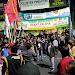 Melebihi Jam, Polisi Bubarkan Aksi Demo Mahasiswa Di Serang Banten
