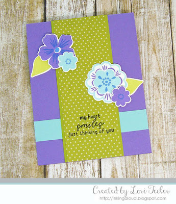 My Heart Smiles for You card-designed by Lori Tecler/Inking Aloud-stamps and dies from Reverse Confetti