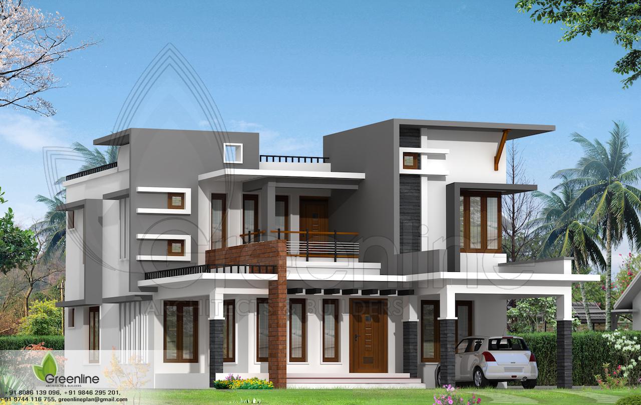 50 Lakh 4 BHK 1993 sq ft Calicut Villa Greenline Architects & Builders Calicut