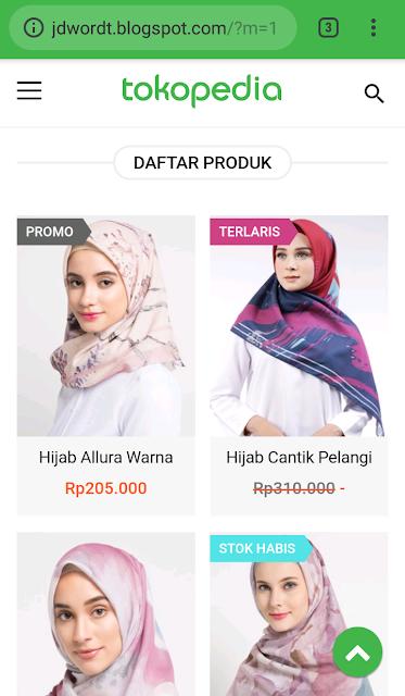 Jasa Pembuatan Toko Online Murah Blogspot Rantau Kabupaten Tapin