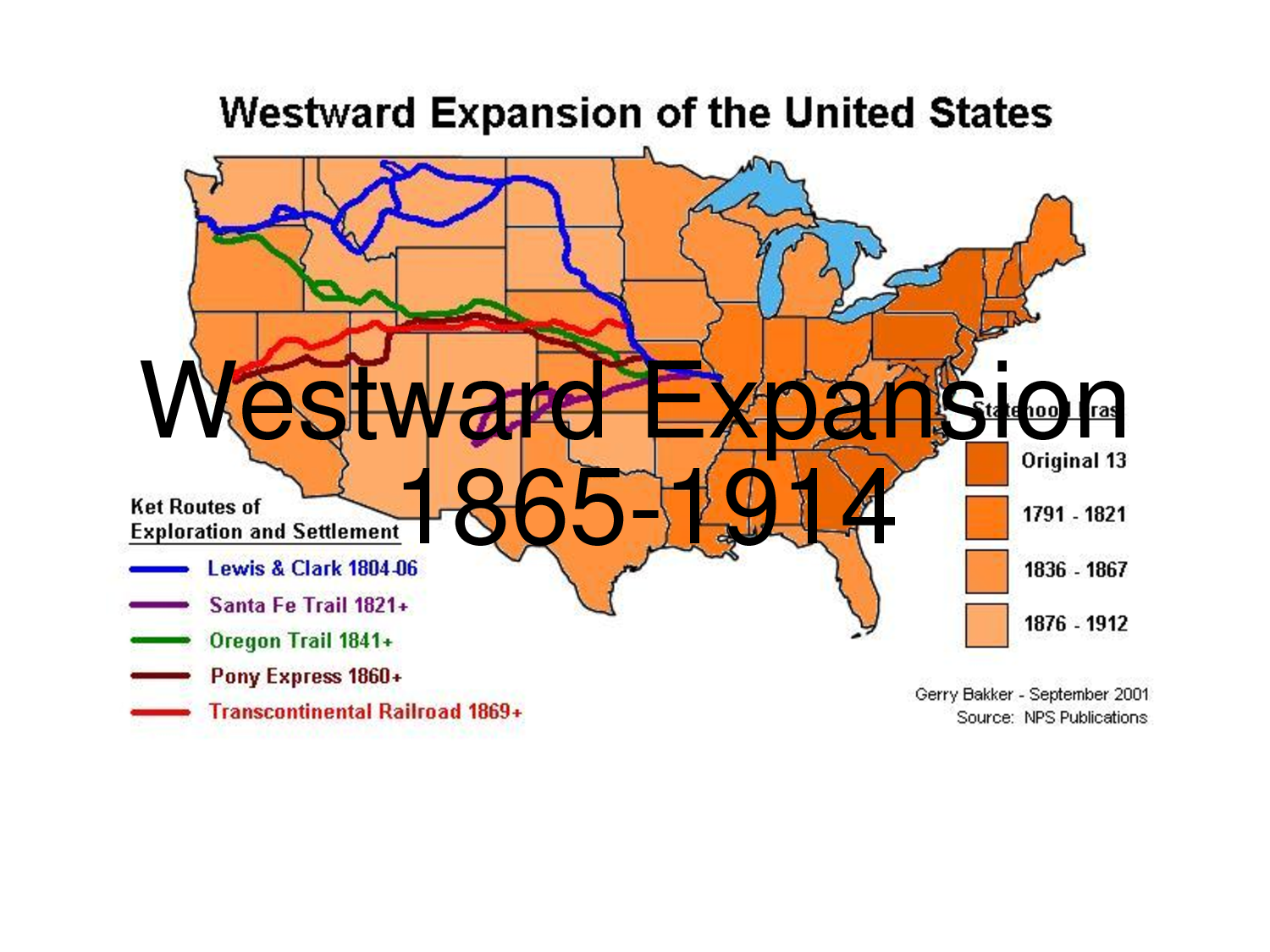 th grade weekly writing assignment week of ms  in an essay discuss the positive and negative impacts of westward expansion after the civil war