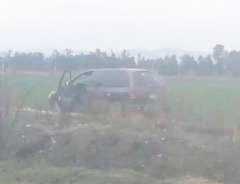 Abandonan en Salamanca; Guanajuato camioneta con 4 ejecutados