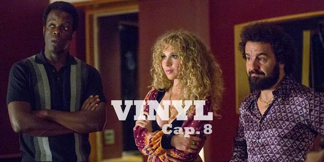 CAP 8 - Un Richie desesperado se acerca a Galasso sobre un préstamo; Kip recibe un curso intensivo en blues de Lester.