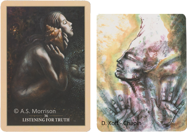 Sacred Rebels Oracle, Listening for Truth, Soulcards 2