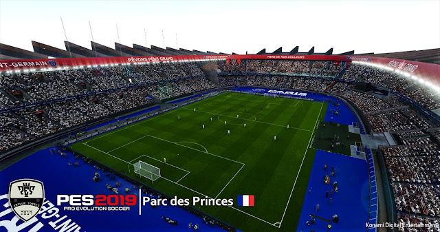 PES 2019 Parc Des Princes by Arthur Torres