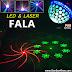 Đèn LED Laser Fala 2 trong 1 trang trí phòng karaoke gia đình giá rẻ