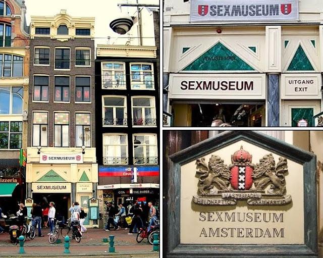 Museo del sexo, Sexmuseum Venustempel de Amsterdam, Holanda. Los museos más raros y extraños del mundo