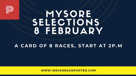Mysore Race Selections 8 February