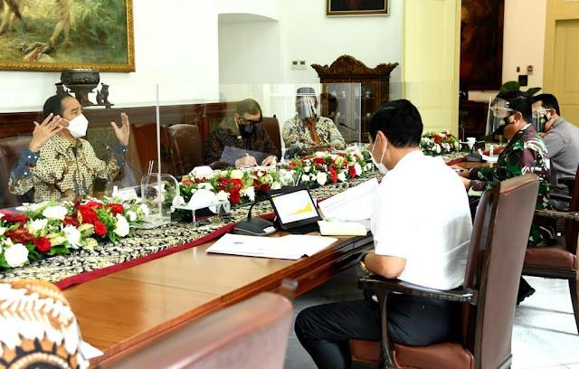Presiden Jokowi Minta Implementasi Konkret dari PPKM