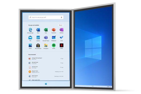 معلومات جديدة عن نظام Windows 10X