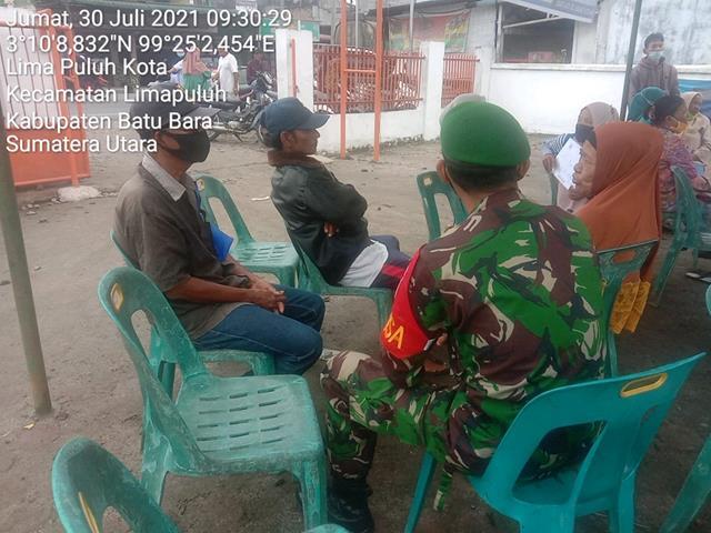 Jalin Silaturahmi Dengan Cara Komsos Personel Jajaran Kodim 0208/Asahan Bersama Warga Binaan