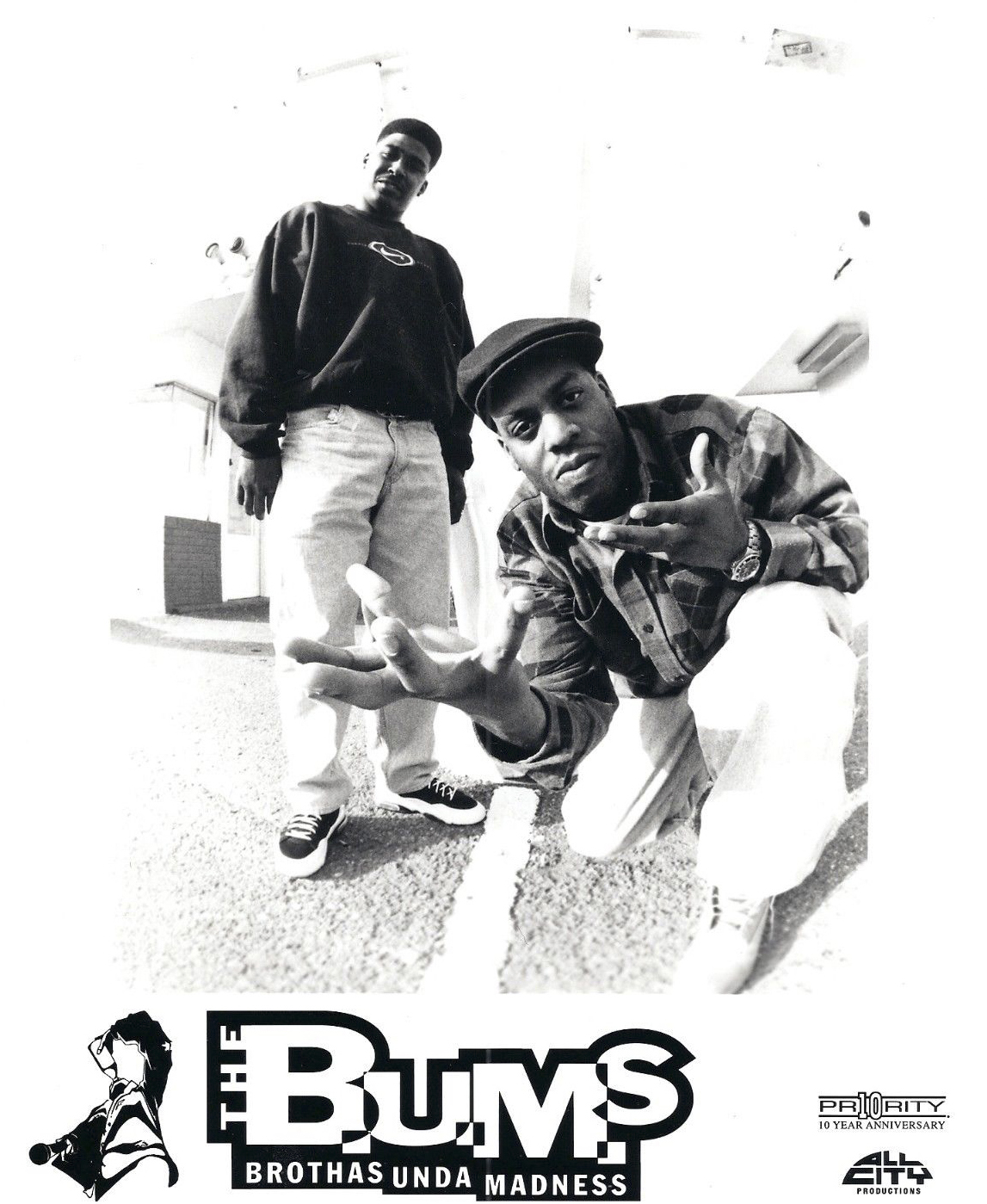 The B.U.M.S. Brothas Unda Madness Publicity Photo