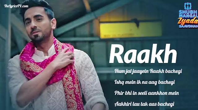 Raakh Hindi Song Lyrics - Shubh Mangal Zyada Saavdhan - Arijit Singh