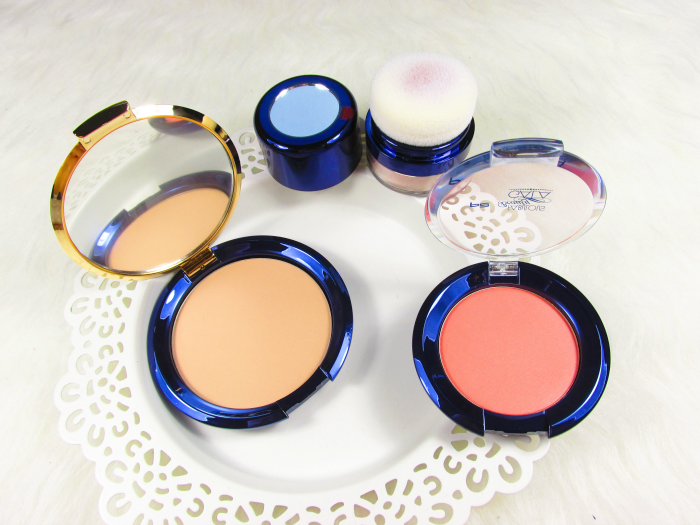p2 Fabulous Beauty Gala - en vogue compact powder, STUNNING ALLURE BLUSH, TEMPTING LOOSE HIGHLIGHTING POWDER