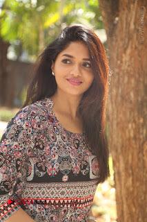 Actress Sunaina Latest Stills in Floral Dress at Pelliki Mundu Prema Katha Trailer Launch  0021.JPG