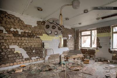 Ruang Operasi Sesudah terjadi Bencana.  Foto COURTESY PHILLIP GROSSMAN