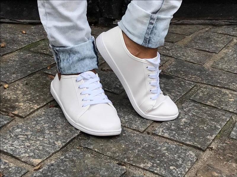 Look tênis branco