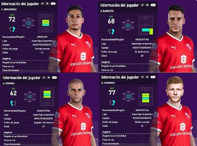 PES 2020 Facepack Independiente by Emaelmate
