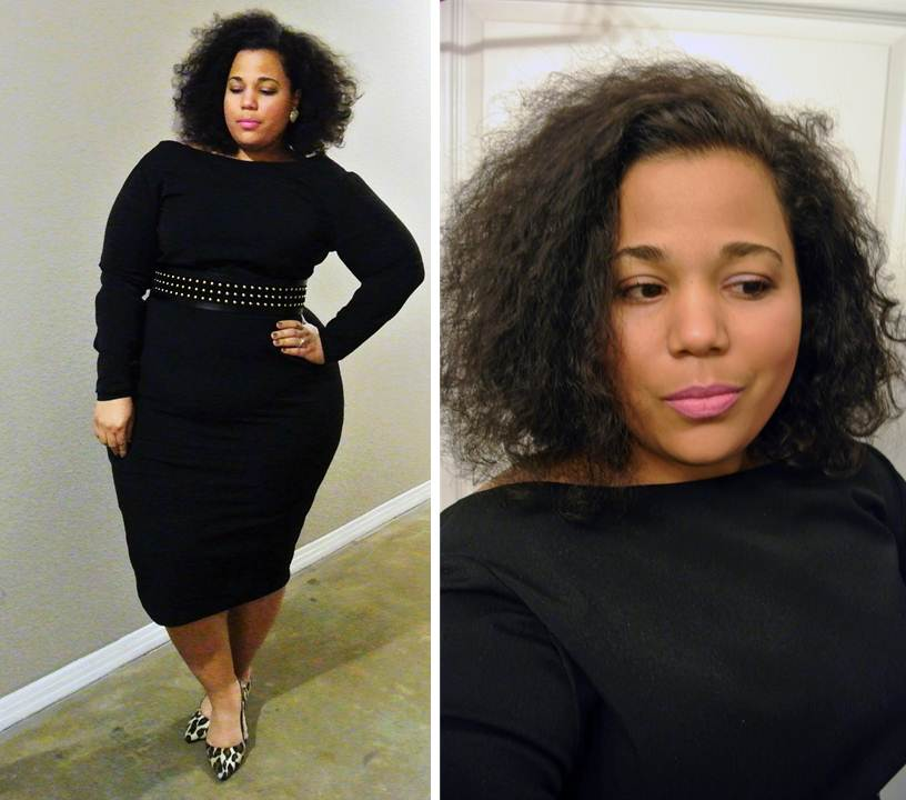 JIBRI dress, high fashion plus size clothing line