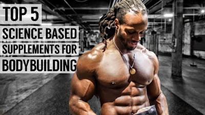Os 5 principais suplementos científicos para musculação