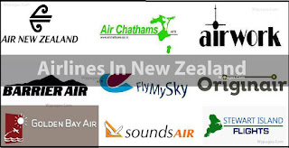 Airlines In New Zealand