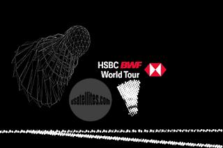 HSBC BWF World Tour Super 1000 Yonex Thailand Open AsiaSat 5 Biss Key Key 12 January 2021