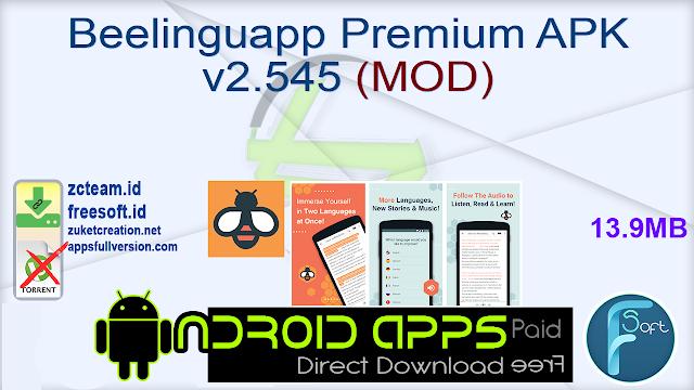 Beelinguapp Premium APK v2.545 (MOD)