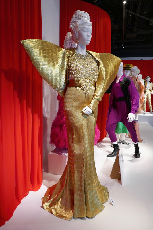 Dominique Jackson Pose season 1 Elektra gold gown