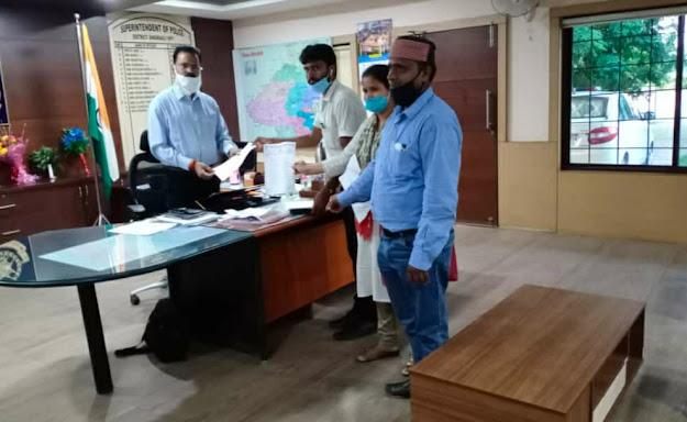 Singrauli News PS-5 district President श्री शैलेन्द्र कुमार