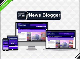 News Blogger - Professional Premium Template