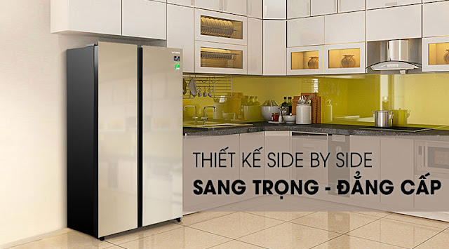 Tủ lạnh Samsung Inverter 647 lít RS62R50014G/SV
