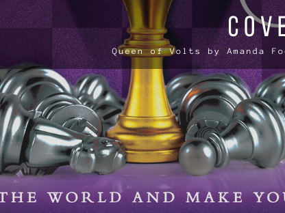 Cover Reveal: Queen of Volts