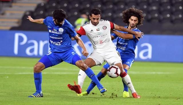 مشاهدة مباراة الجزيرة والنصر بث مباشر اليوم 17-10-2020 دوري الخليج العربي