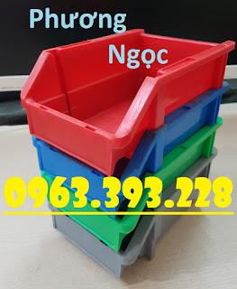 Khay nhựa đựng ốc vít, kệ dụng cụ chống tầng, khay linh kiện, khay nhựa vát đầu  20180407_113951