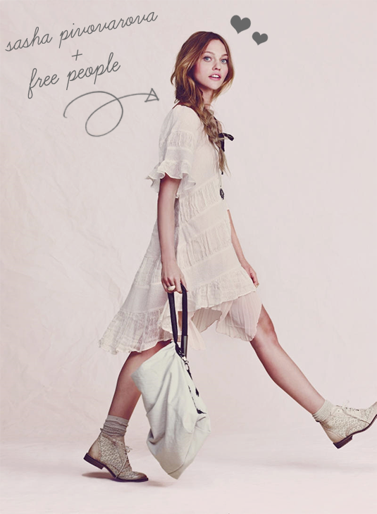 sasha pivovarova for free people