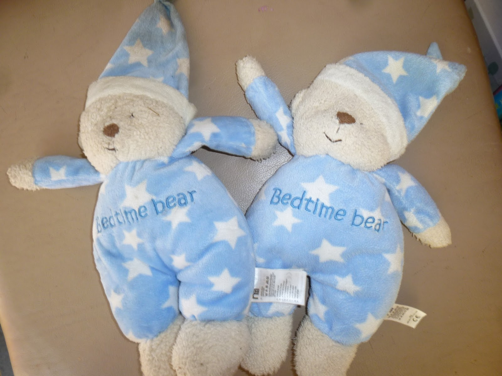 Blogging Beautifully: Say hello to 'bedtime bear'.....