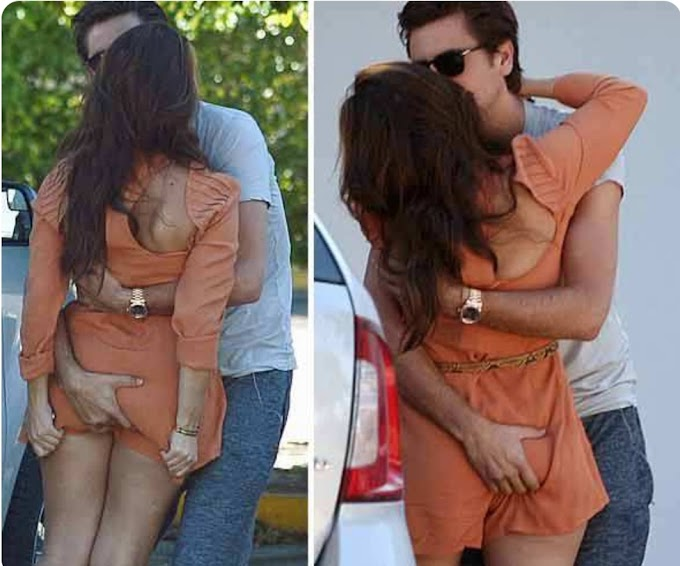 Celebritiy Public Display Of Affection Show Gone Viral
