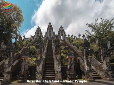 Nusa Penida Island - Hindu Temple