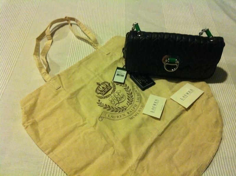 c6c48289b1 Ralph Lauren Birchill Small Shoulder Bag. SOLD. Bought online at Macy s