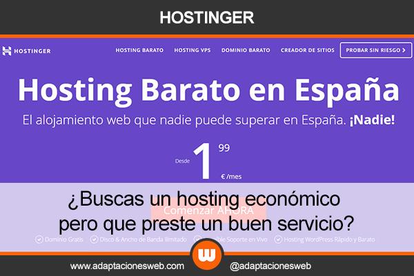 ¿Necesitas un hosting para tu web pero no tienes mucho dinero?
