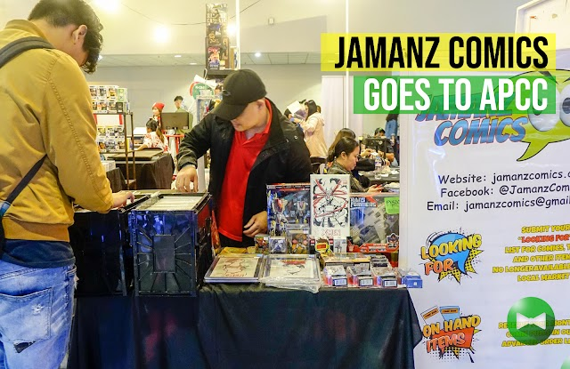Jamanz Comics goes to APCC
