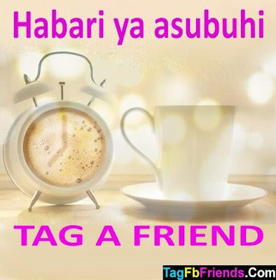 Good morning in Swahili language