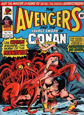 Marvel UK, Avengers #147, Conan