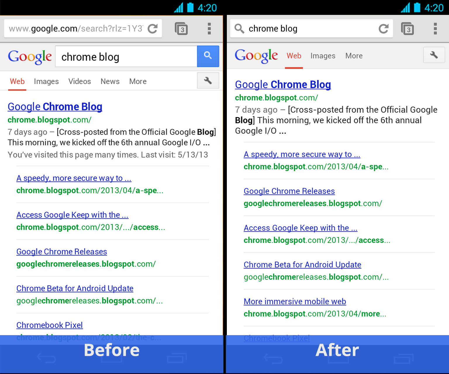 Google Chrome 14 1 apk for android 2 3 Gingerbread free download